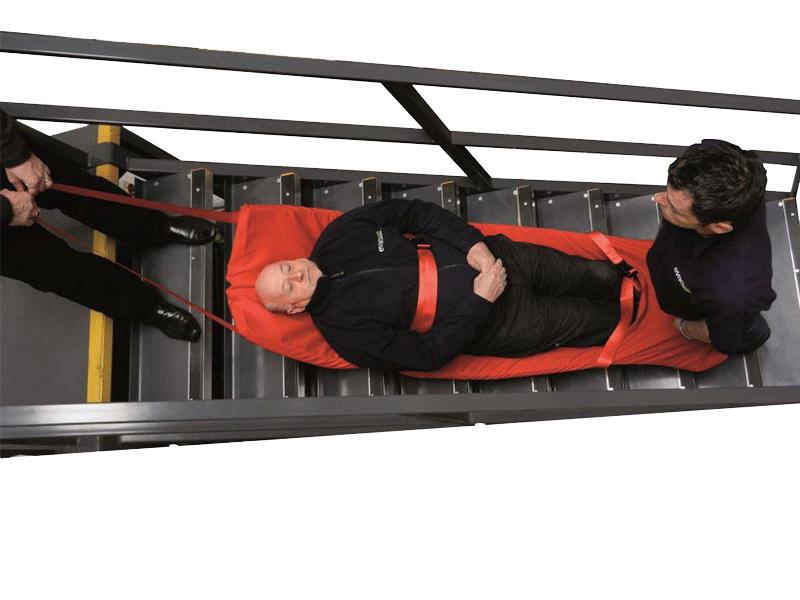 Evacuslider Standard   Evacusafe Deutschland.